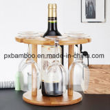 New Design and Elegant 100% Bamboo Red Wine Storage and Red Wine Rack.