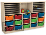 Sf-02W-Wood Kid's Toy Box, Toy Cabinet