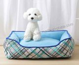 Fashion Detachable Washing Rectangle Pets Kennel Bed