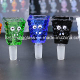Glass Smoking Accessories Squarepants for Wholesale with 14 to 18mm Female by Shining Glass