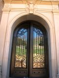 Stunning Hand-Crafted Security Iron Entry Door America Standard