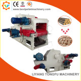 Wood Logs Tree Branches Cutting Drum Chipping Equipment for Sale