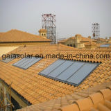 Flat Panel Concentrate Solar Heating Collector for Pool