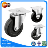 "3"" Top Plate Rigid and Swivel Solid Rubber Wheel"