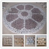 Natural Granite Garden Cobblestone/Paving Stone for Outdoor Garden