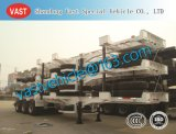 40FT 2 Axles Container Chassis Semi-Trailer Semi Trailer Truck Trailer for Wharf