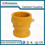 Nylon 3/4′′ NPT Threaded Cam and Groove Hose Couplings