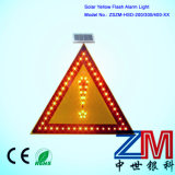 Solar Powered Traffic Sign / LED Road Sign / Flashing Warning Sign