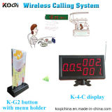 Wireless Paging Buzzer Receiver System for Restaurant