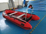 Hypalon Material Inflatable Boat with Aluminum Floor