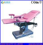 ISO/CE Approved Hospital Equipment Semi-Electric Gynecological Operating Theater Table