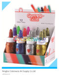 12*50mlglitter Glue for Students and Kids