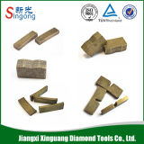 Custom-Design Granite Cutting Diamond Segment for Circular Saw Blade