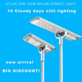 Wholesale Waterproof Mini All Ine One Solar Street Light with Pole for Wall Mount