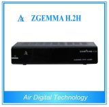 2015 Original Zgemma Combo DVB-S2 + DVB-T2 HD Digital Satellite Receiver T2 Decoder Hot in Europe Combo Set Top Box Zgemma H. 2h