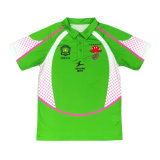 Healong Customized Sublimation 100% Polyester Good Price Men's Polo Shirt