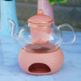 Borosilicate Glass Teapot Pyrex Glass Teapot with Infuser