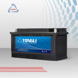 Tongli Brand DIN75/57539 12V German Standard 75ah Mf Cheap Automotive High Quality Car Battery