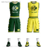Latest Stitches Knitted Fabrics Quick Dred Basketball Team Clothing for Men Women