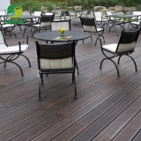 Carbonized Color Bamboo Flooring Strand Woven Click System Floating Wood Flooring