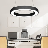 400mm Office Lighting Conference Room Studio LED Hollow Round Pendant Lamp