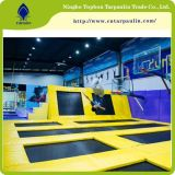 PVC Coated Tarpaulin for Trampoline Park Fabric Covers