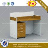 Wooden Top Office Desk/Table Powder Coating Steel Office Furniture (HX-8NE076)