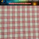 Nylon Yarn Dyed Elastic Plaid Fabric in Soft Hand Feeling for Shirting