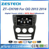 2 DIN Auto Radio for QQ 2013 2014 Car DVD GPS Player