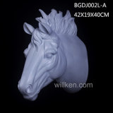 Modern Home Decor Poly Resin Horse Head Wall Art