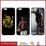 OEM NBA Player Custom 3D Drawing Pattern Soft TPU Mobile Phone Case