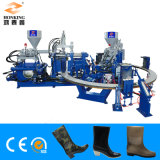 PVC Rain Boot/Gumboots Shoes Injection Moulding Making Machine (2 color)