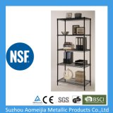 "NSF Approved Adjustable Steel Wire Metal Shelving Rack (36""X14""X72""X5tiers)"