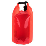 190t Nylon PVC Ocean Sack Waterproof Dry Bag with Transparent Window