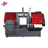 Semi Automatic Manual Feed Horizontal Double Dual Column Post Metal Carbon Stainless Steel Iron Copper Aluminum Cutting Horizontal Band Saw Sawing Machine