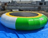Cheap Inflatable Water Trampoline, Jump Wtater Sport Trampoline for Water Park D3017-1
