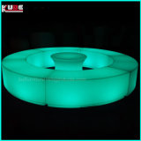 Lighting Portable LED Lighting Ottomans Bend Circle Stools Chair