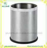 Stainless Steel Waste Bin Hotel Office Guest Room Dustbin 8L