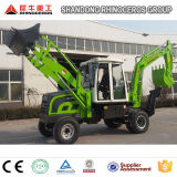 Cheap Small Compact Backhoe Loader Farm Tractor for Sale