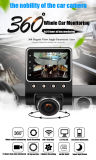 X360 Car DVR Dash Camera 1080P 360 Degree View Angle Dashcam Video Recorder Black Box with WiFi
