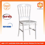 China Commercial Lucite White Resin Napoleon Chair