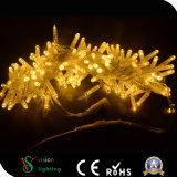 Waterproof Yellow LED Christmas String Lights