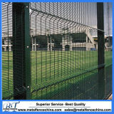Green (RAL 6005) 3D Curvy Welded 358 Mesh Fence
