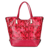 Crocodile Skin Bags Fashion Woman Handbag (MBNO034057)