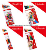 Wood Free Colour Pencil with Cheap Price