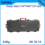 PP Plastic Suitcase Anti-Broken Storage Toolbox with Removable Tray