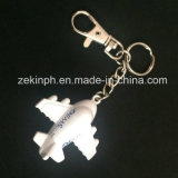 Promotion Gift Custom Metal 3D Plane Keychain