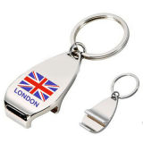Zinc Alloy Beer Bottle Opener Promotional Gift with London Logo