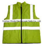 Uve001polyester Oxford PVC/PU Non-Breathable/PU Breathable Coat Reflective Cloth Vest Worksuit