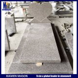 France Simple Heart Granite Tombstone